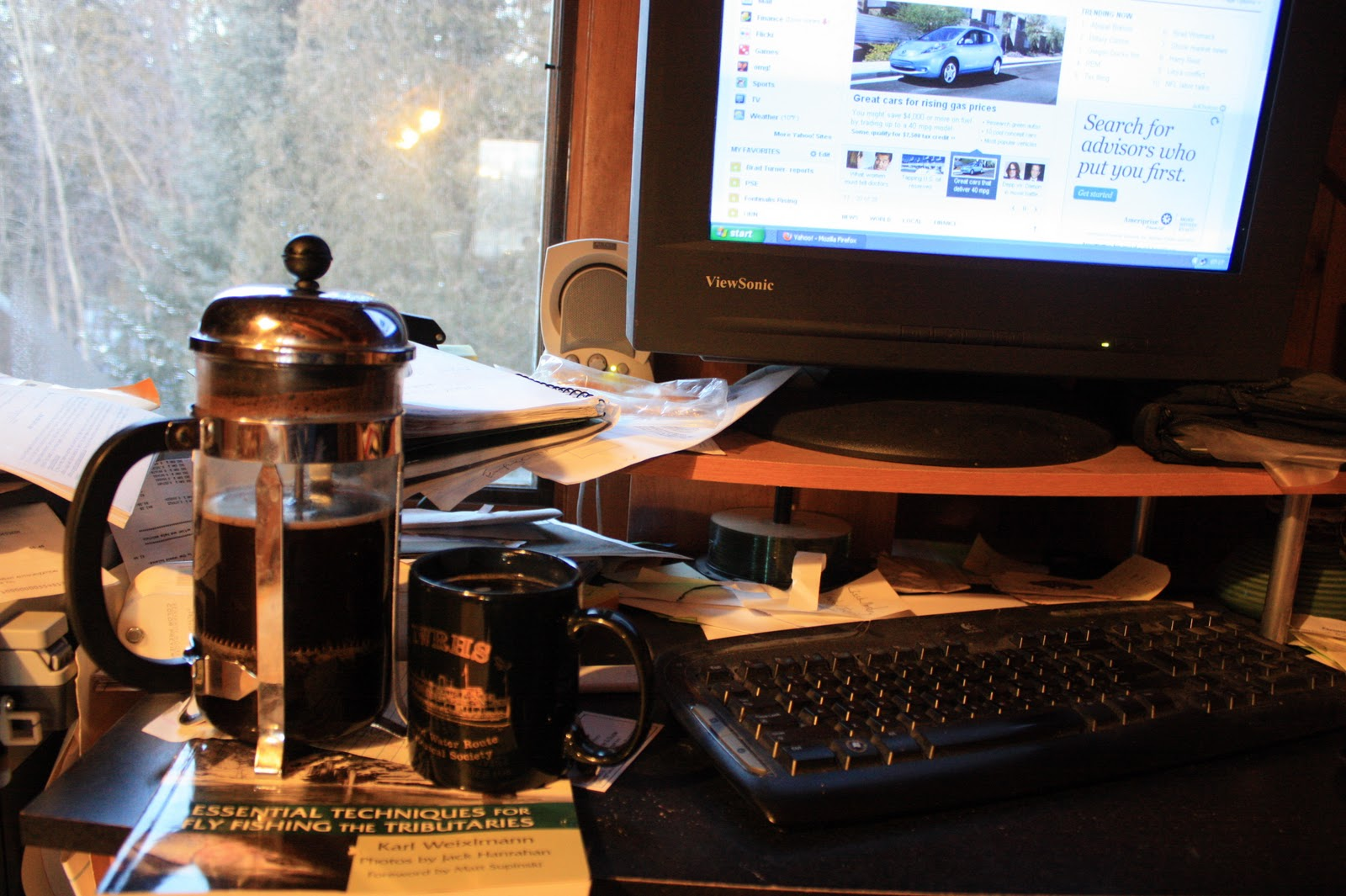Good Morning Monday Images It's french press- my morning