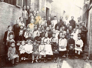 Canton 1908: the boy on left in second row in front the Stanley Anderson is A'Chu, on whose name Emma Anderson's book was based. J.N. Anderson is standing at left side far back.
