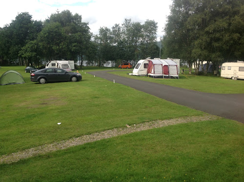 Luss Camping and Caravanning Club Site at Luss Camping and Caravanning Club Site