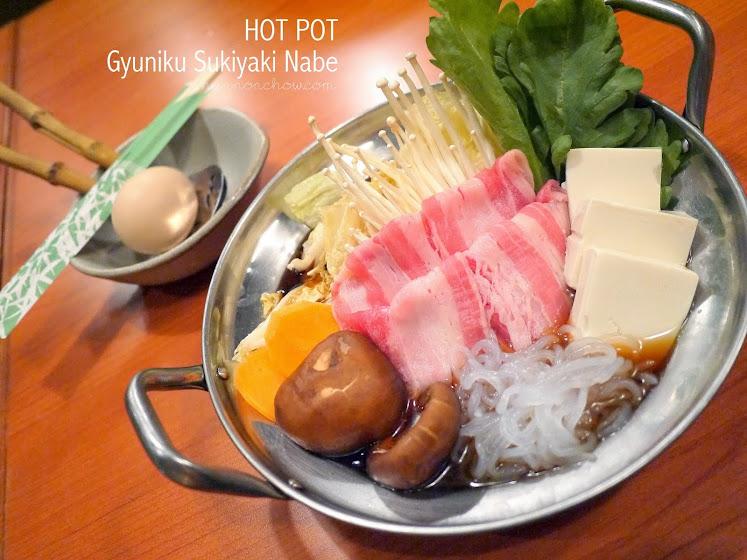 Gyuniku Sukiyaki Nabe