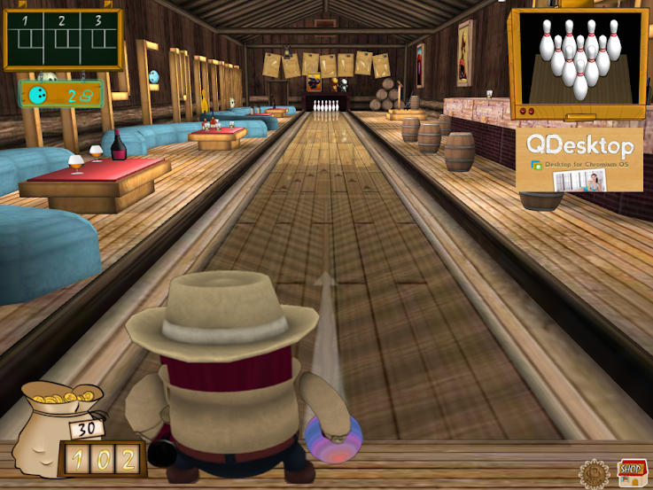 3D Bowling chrome