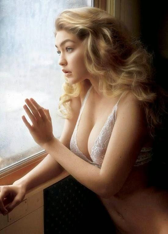 Gigi Hadid – Mỹ nhân 19 tuổi khỏa thân quằn quại trên xe lửa
