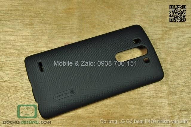 Ốp lưng LG G3 Beat F470 Nillkin vân sần