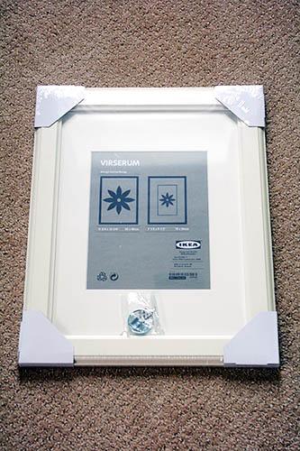 oh hello 11 ikea virserum frames