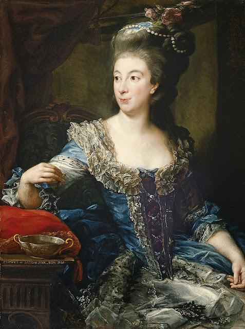 Pompeo Batoni - Portrait of the Countess Maria Benedetta di San Martino