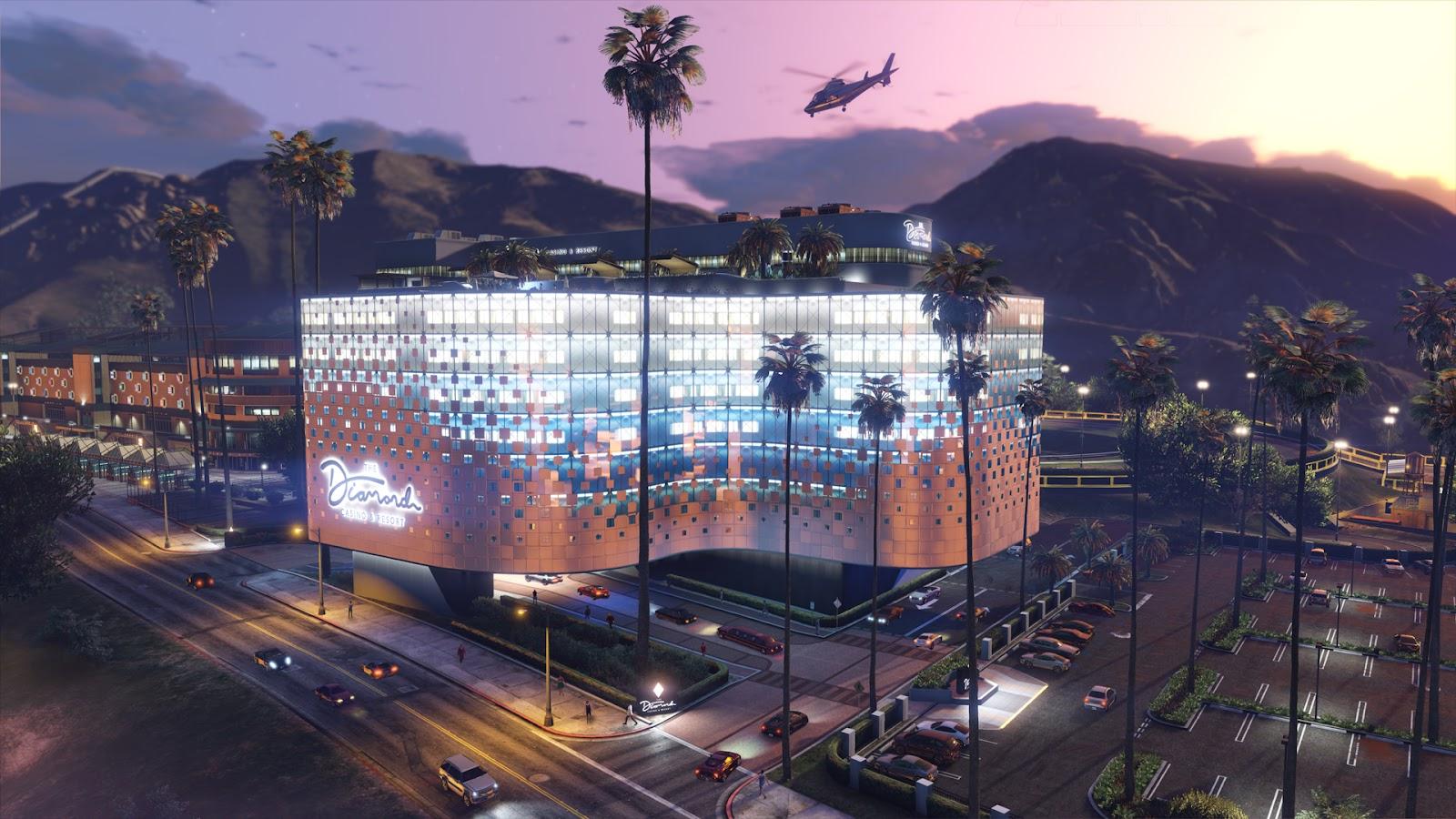 The Diamond Casino Heist GTA V