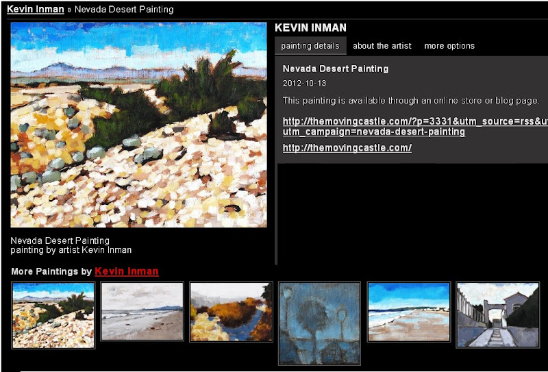 Kevin Inman - Nevada Desert Painting