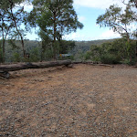 Large clearing at the end of the Nepean Lookout management trail (150447)