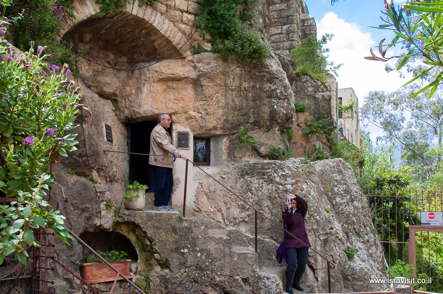 Скит Иоанна Предтече в монастыре Иоанна Крестителя в пустыне. Экскурсия в Иудейских горах Светланы Фиалковой.
