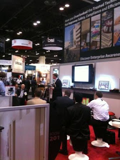 Awarepoint demonstrating RTLS Solutions at HIMSS11