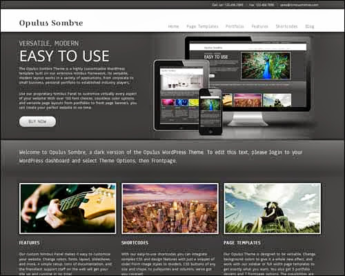 theme wordpress opulus