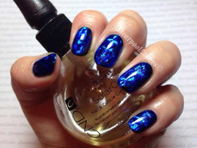 liverpoollashes liverpool lashes jennysellsfoils fabulousfoils gorgeous blue foil nails electric nail art