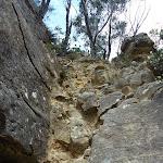 Climbing up the Korrowall Knife-edge (313781)