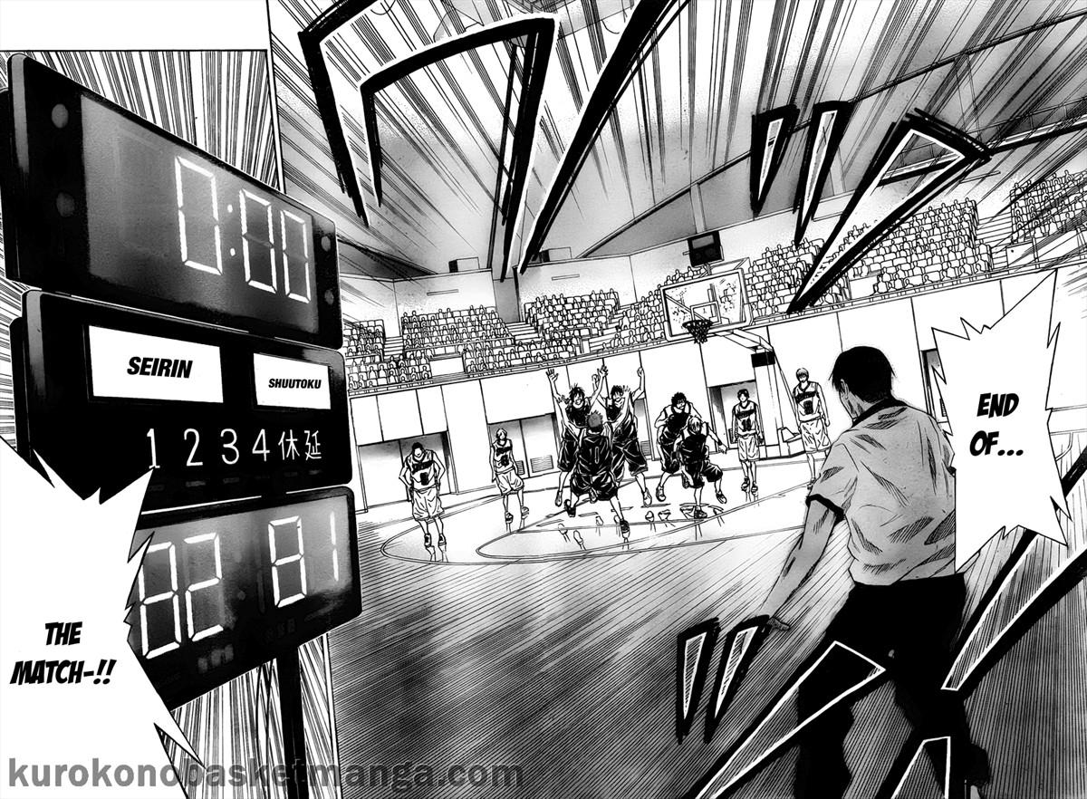 Kuroko no Basket Manga Chapter 35 - Image 10-11