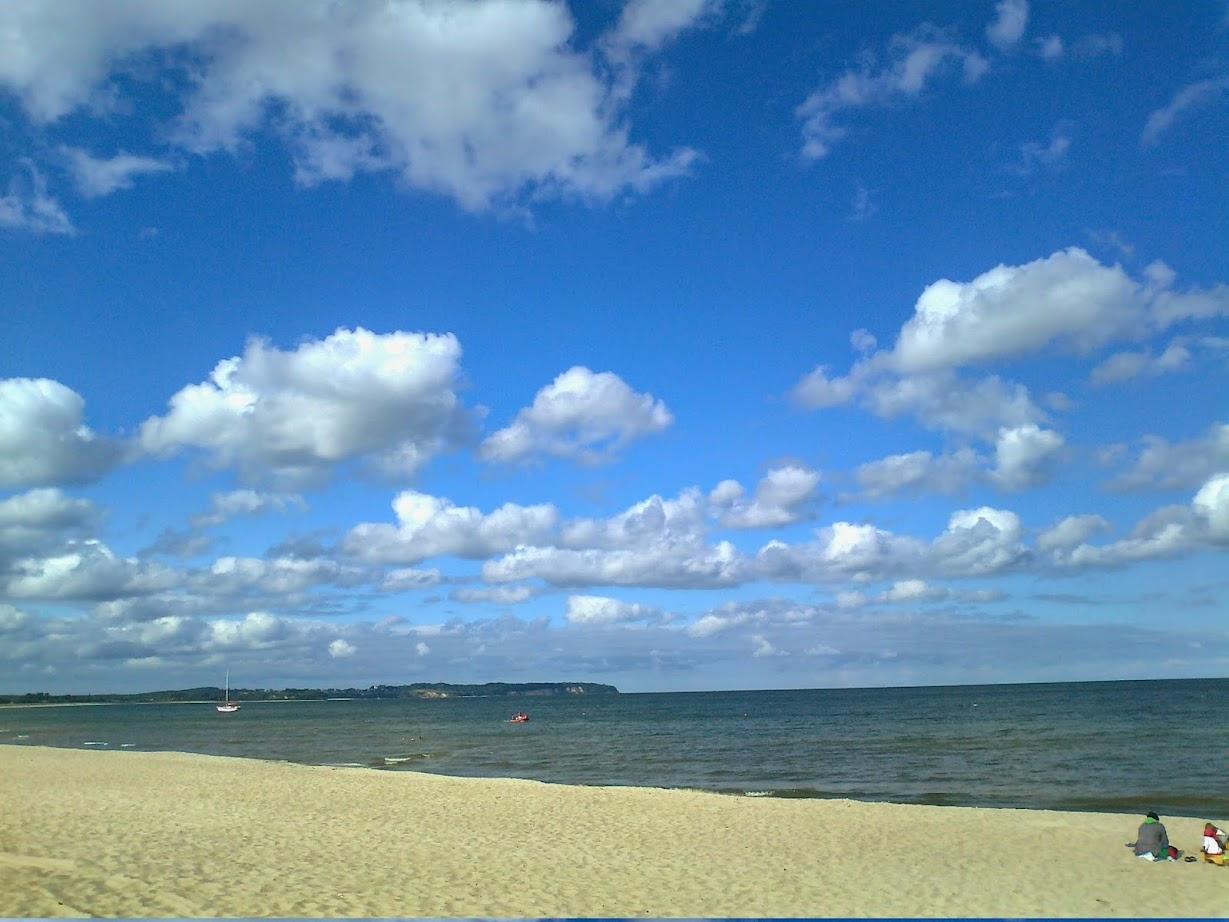 Strand bei Groß Zicker zwischen Lobbe und Thiessow