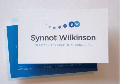 Synnot Wilkinson Business Cards