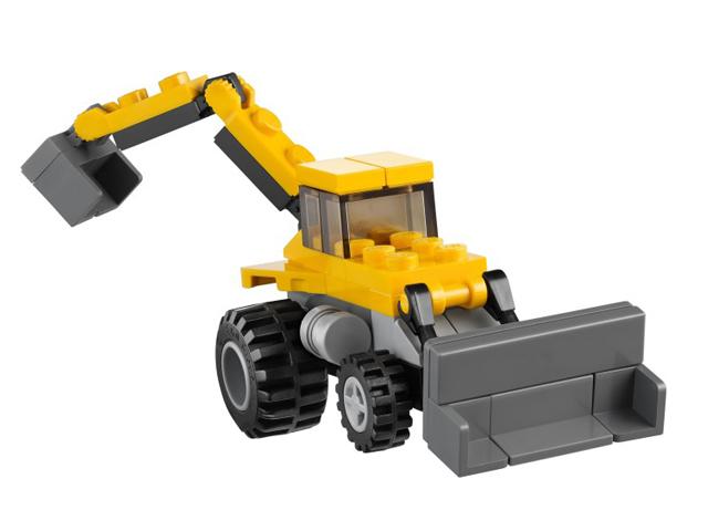 レゴ クリエイター コンストラクションキャリア 31005