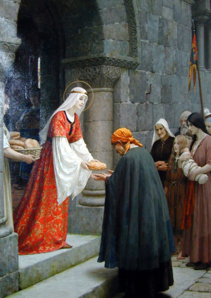 Edmund Blair Leighton - The Charity of St. Elizabeth of Hungary