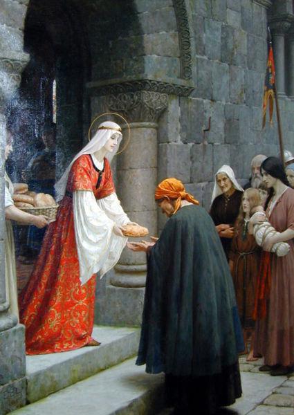 Edmund Blair Leighton - The Charity of St. Elizabeth of Hungary
