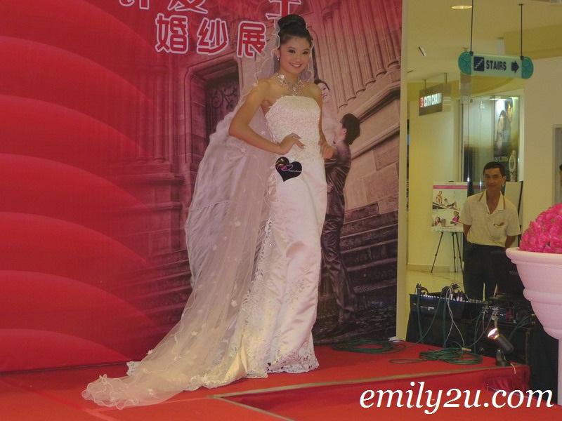 Ipoh Parade Bridal Fair fashion show