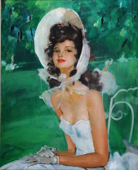 Jean-Gabriel Domergue - Miss Lilian