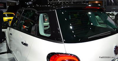 Fiat 500L windows