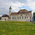Besuch der Wieskirche in Steingaden - 1. Juni 2014