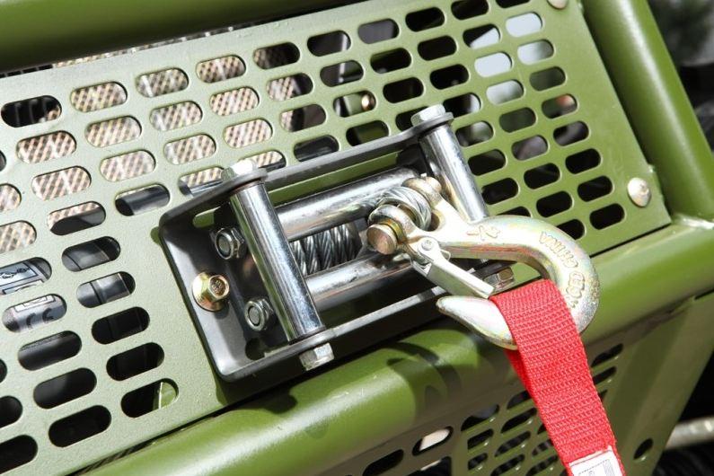 500cc Agmax Military Farm UTV 3000lbs Electric Winch