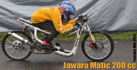 Motor drag race balap drag liar the champion matic drag for Yamaha drag bike