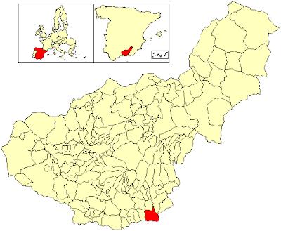 Localización de Albuñol