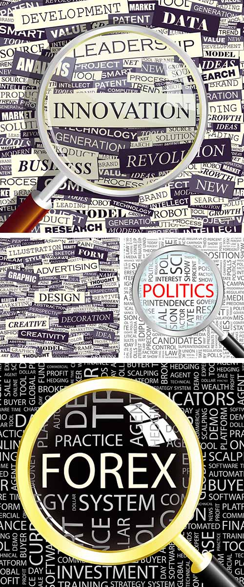 Stock:  Seamless word collage