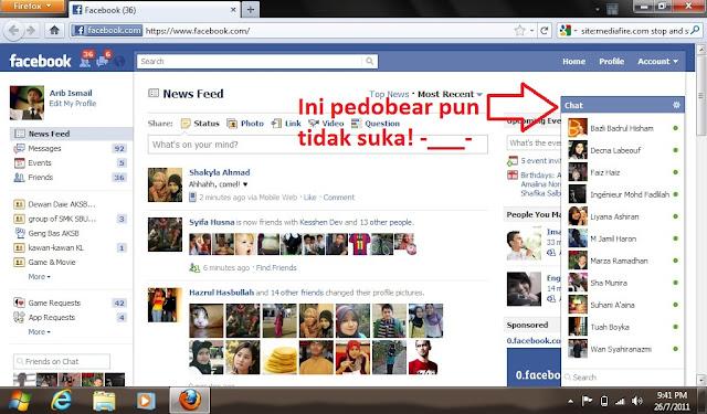 kat sini Arib akan ajar korang macam mana nak dapat balik Facebook