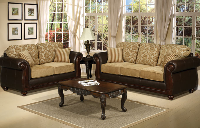 Queen furniture living room salas for Modelos de muebles para living