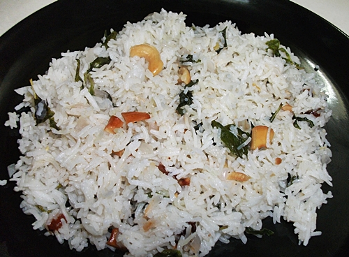 Minty Fruit & Nut Rice