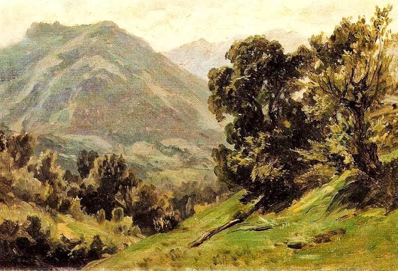 Carlos de Haes - Aguas buenas Pirineos