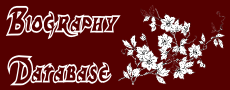 Biography Database, Logo of Biography Database