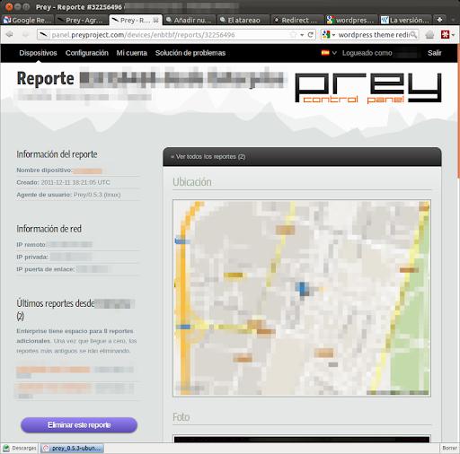 Informe de PREY