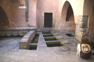 Sizilien - Cefalù - Das Lavatoio Medievale, ein Waschhaus aus dem Mittelalter