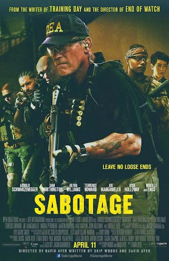 Σαμποτάζ Sabotage Poster