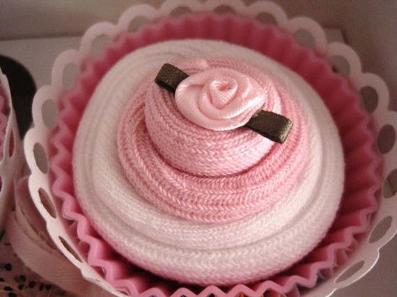 Bitty Banana Bean Etsy Com Deal Of The Day Pink Baby Socks Cupcakes