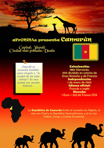 Un País de Africa Camerún