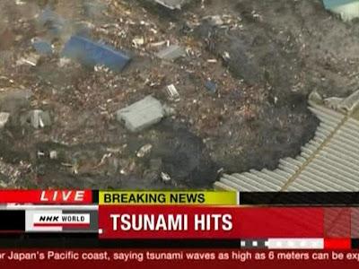 Землетрясение и цунами в Японии