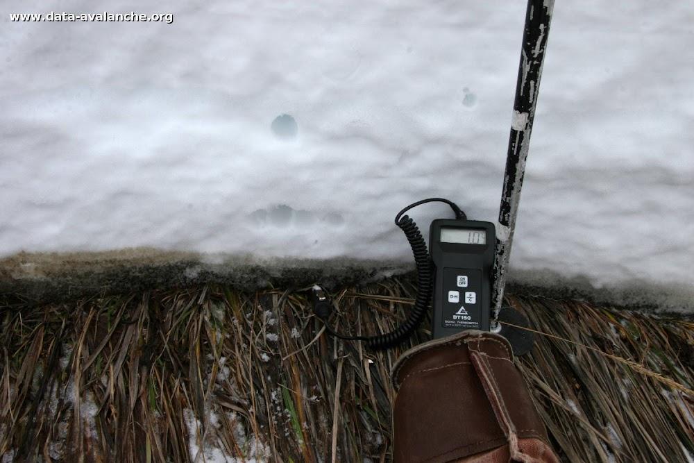 Avalanche Aravis, secteur Col des Aravis - Photo 1 - © Duclos Alain