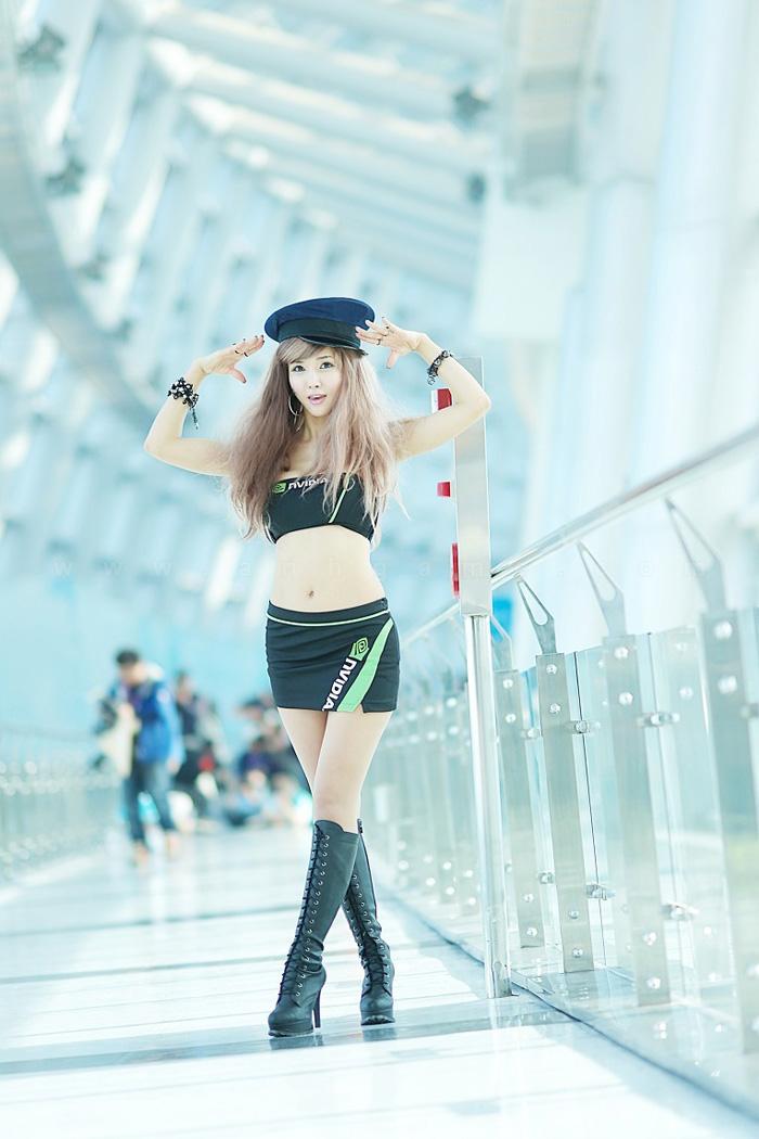 Showgirl G-star 2012: Cha Sun Hwa - Ảnh 9