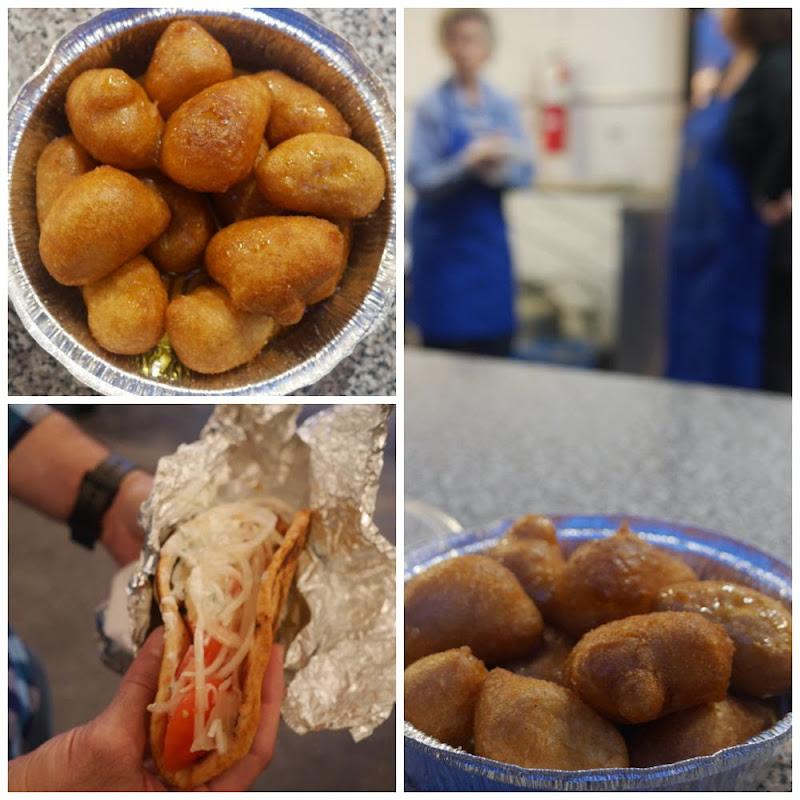 St. Demetrios Festival 2014: Loukoumades and gyros