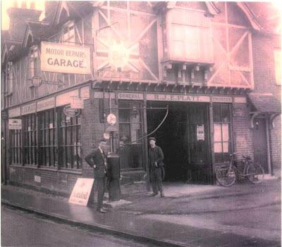 Platts Garage, Marlow, circa 1930