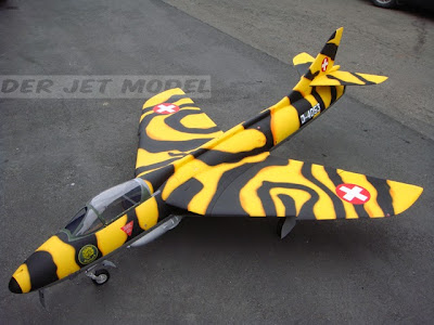 Hawker Hunter-Tiger Head-J-4053