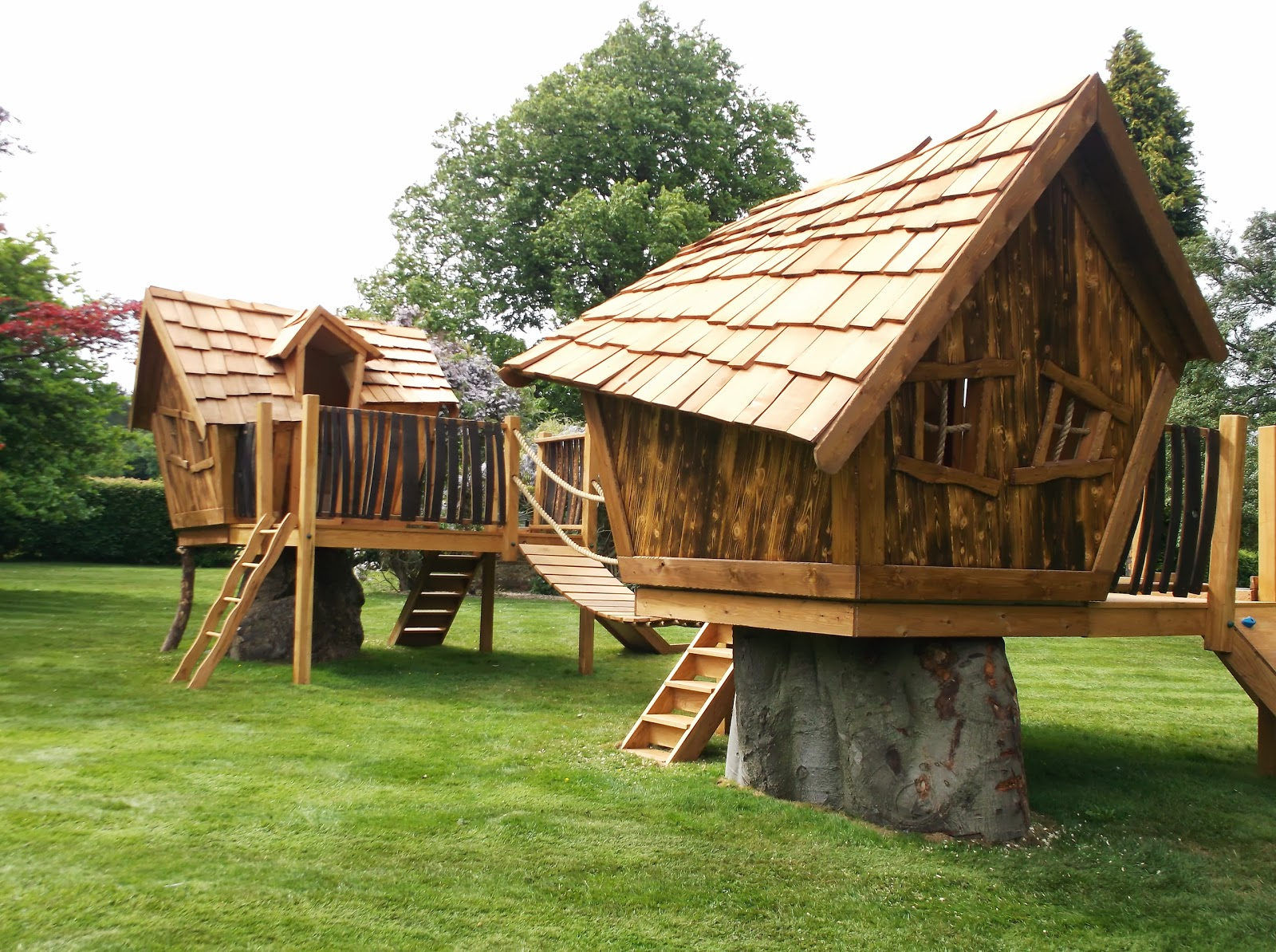 Henley Oak Treehouse Enchanted Creations Playhouses