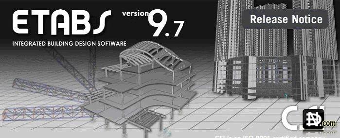 Etabs 9.7.4 full crack [Mediafire] - Phần mềm tính toán kết cấu nhà cao tầng !