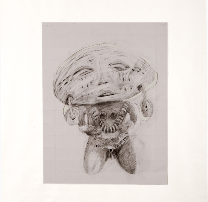 14-Mujer+IV+%28serie+Copiar+Cortar%29_2003_Graphite+sur+papier+canson_50x65cm_Milton+Becerra_BD.jpg (709×690)